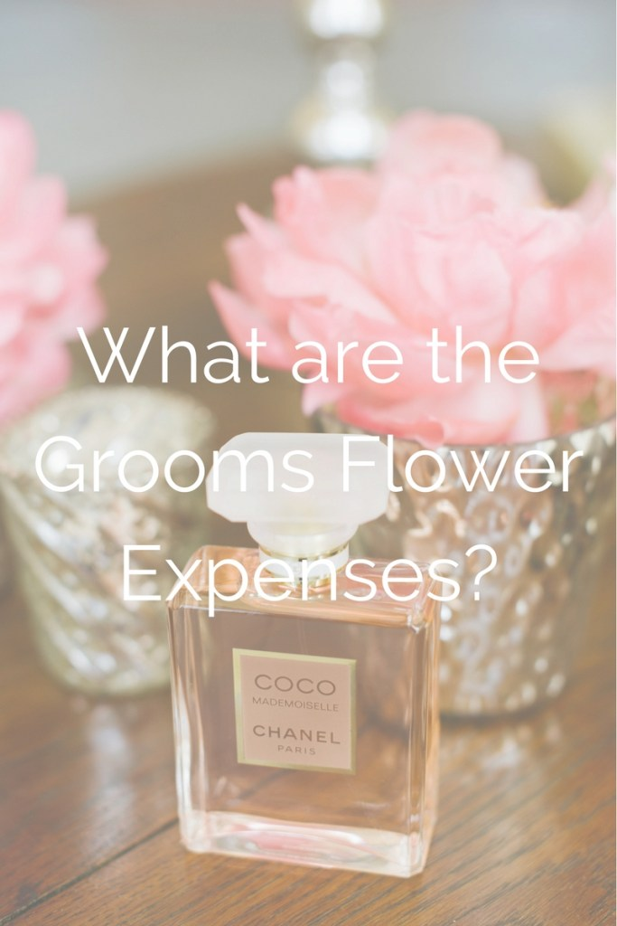 Grooms Flower Expenses