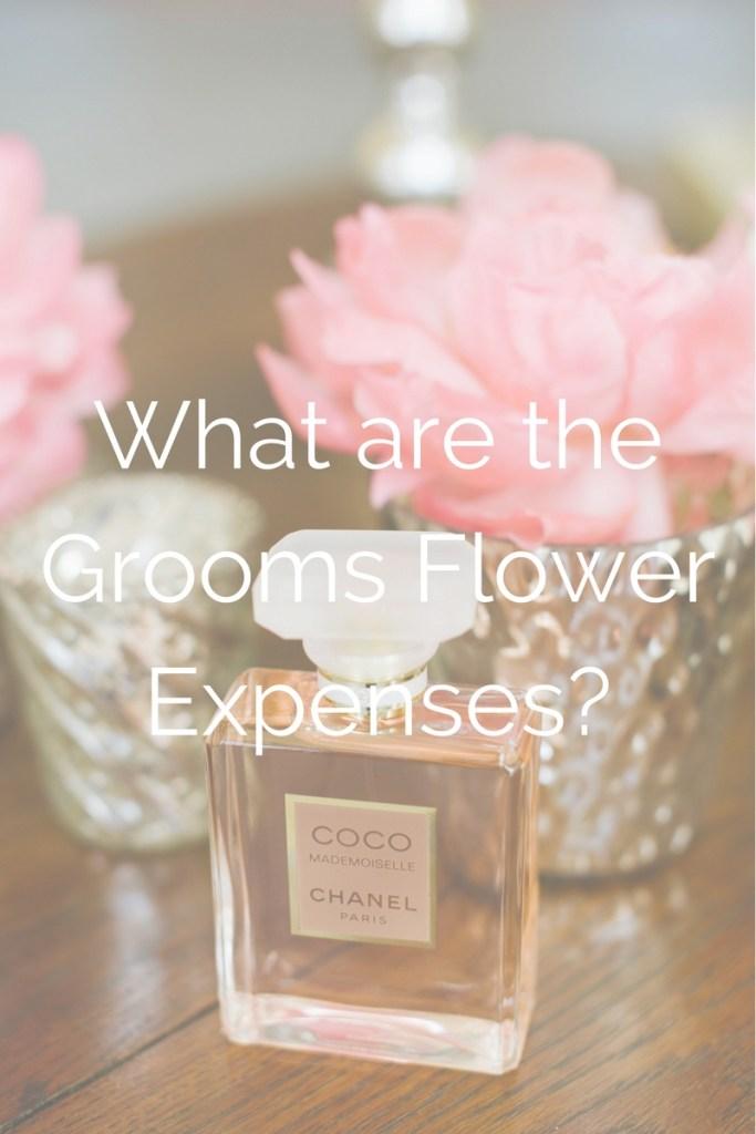 Grooms Flower Expenses