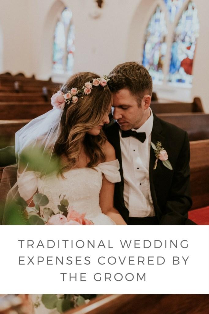 grooms wedding expenses