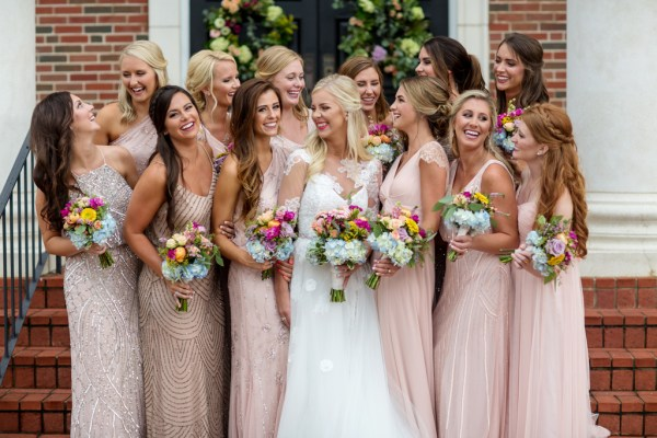 A Mississippi Summer Boho Wedding