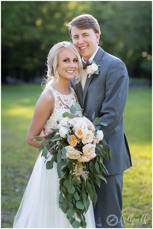Outdoor Spring Wedding in Collinsville, Mississippi