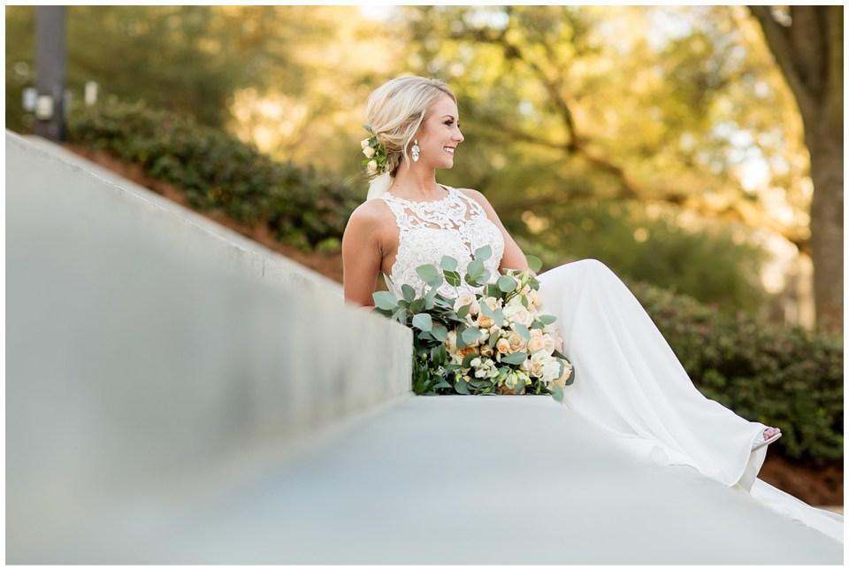 Jackson Mississippi Outdoor Bridal Portraits