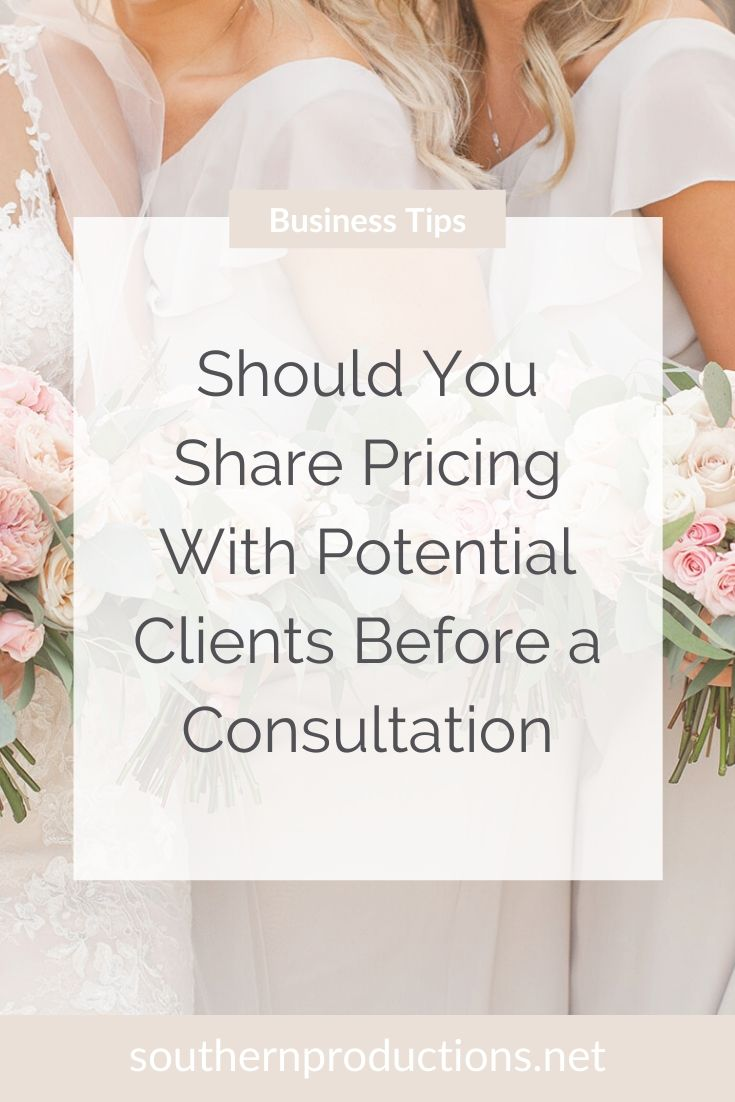Should You Share Pricing With Potential Clients Before a Consultation