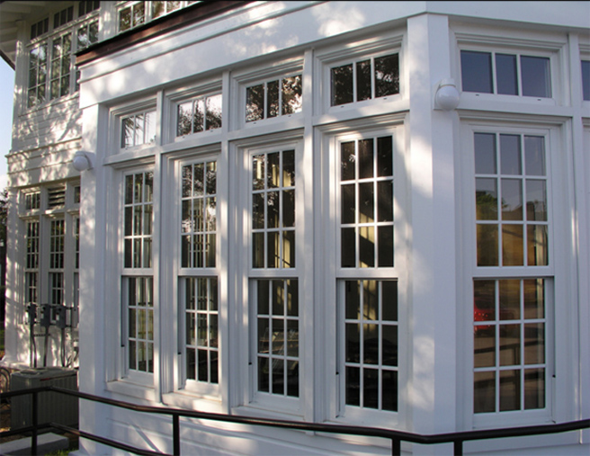 Ordinaire They Elected Instead To Purchase Custom Built Aluminum Historically Accurate  Windows And Doors, Which Since That Time Have Endured Two Hurricanes In  2004 ...