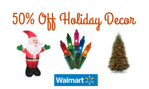 Walmart: Up To 50% Off Holiday Decor :: Southern Savers
