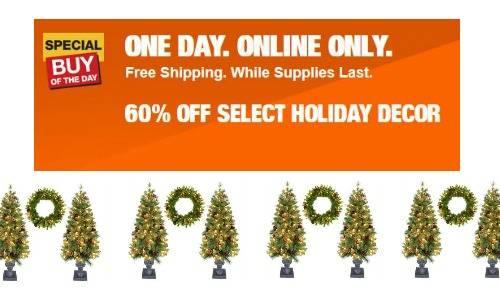 Home Depot: Save On Trees & Storage Bins :: Southern Savers