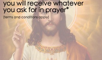 Prayer Terms and Conditions