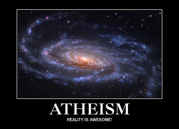 Atheism Reality poster
