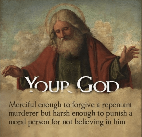 Your God is Evil