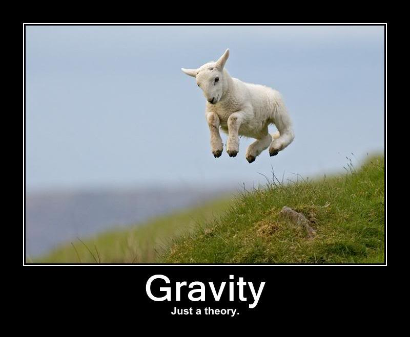 Gravity is Just a Theory