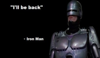I'll Be Back - Iron Man