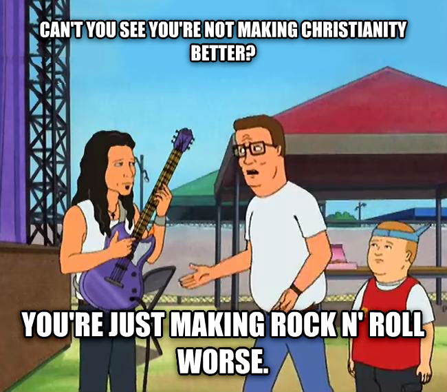 Christian Music Sucks
