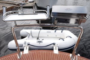 Stainless Boat BBQ