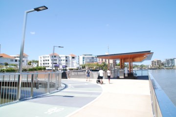 Stainless balustrade for New Farm Brisbane Riverwalk Rebuild