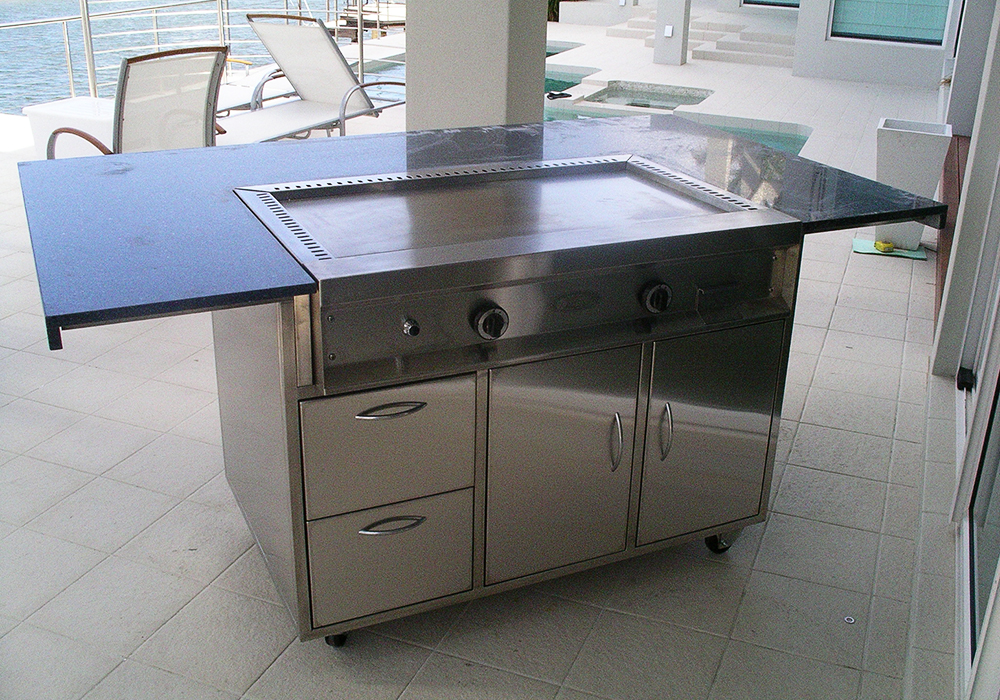 Stainless Steel Residential Teppanyaki BBQ-Cookout BBQ