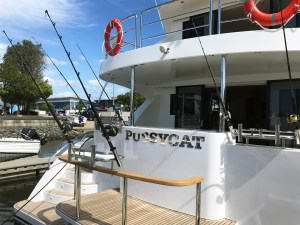 Stainless steel boat name-Pussycat3