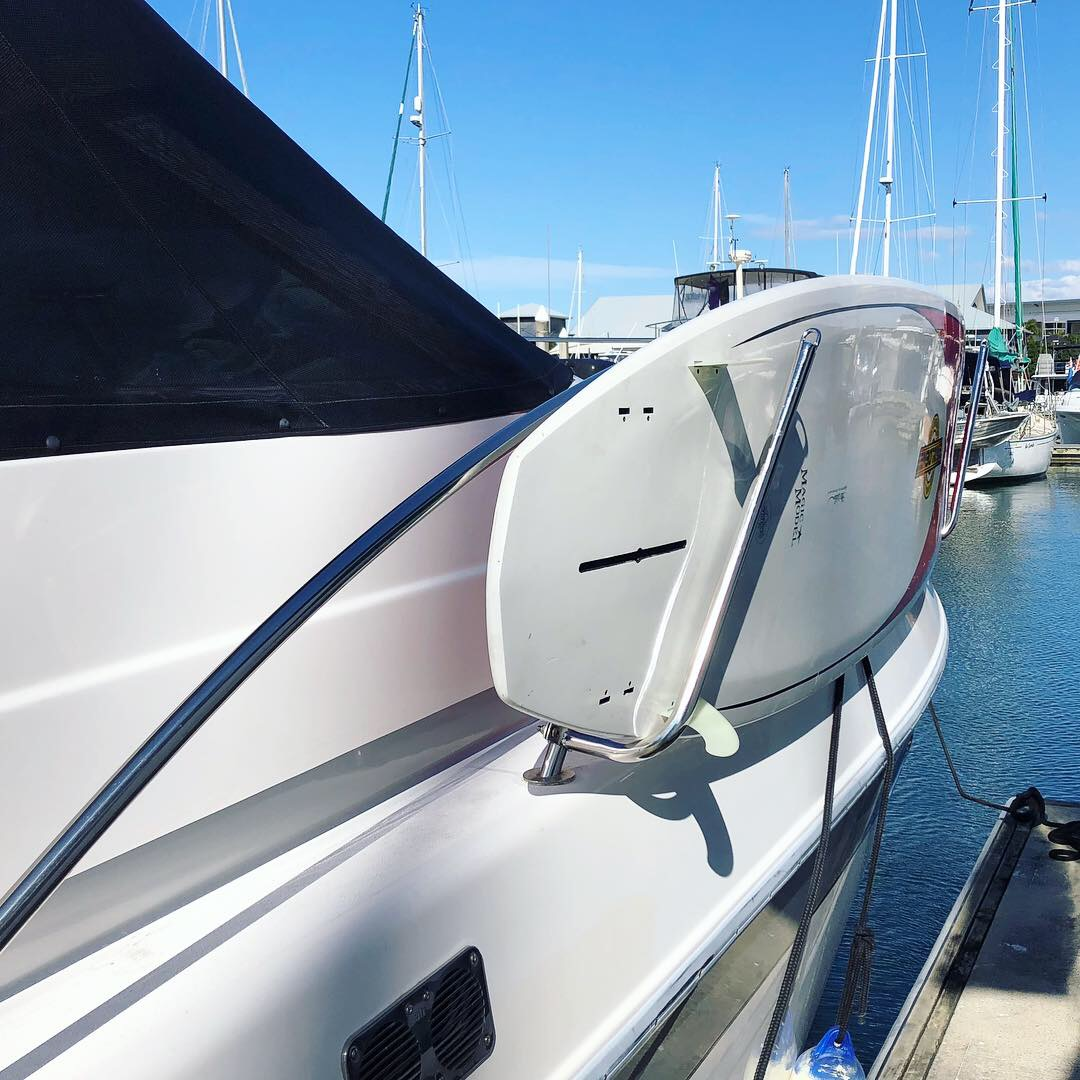 Stainless board/SUP Removable Rack for any boat