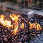 Add ambience to your home with gas Australian fire pit