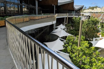 The Kitchens stainless balcony, Robina Town Centre