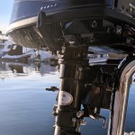 Stainless outboard mount for duckboard rail