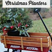How to Make Free Christmas Planters Tutorial