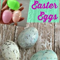 {Spring} Gussied Up Easter Eggs