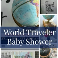World Traveler Baby Shower