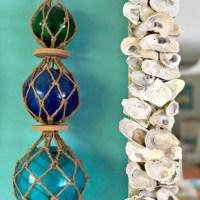 {Beach House Refresh} DIY Oyster Mirror