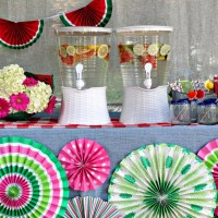 How To Set Up A Beverage Station For Summer Entertaining