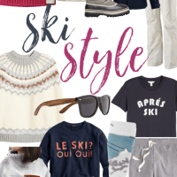 What to Pack For A Ski Trip - Cute Ski Style