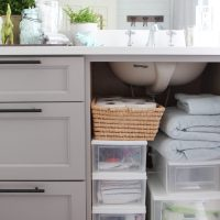 How to Organize Bathroom Cabinets | 20 Minute Organizing