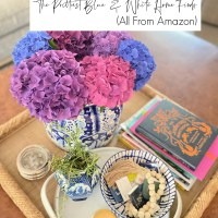The Prettiest Blue and White Home Finds (All From Amazon)