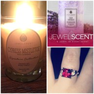 Jewel Scents: a really awesome product. Melt the candle down and see what ring is waiting inside!