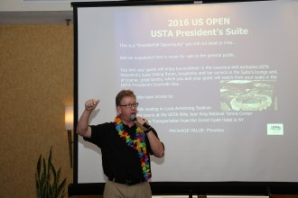STF Annual Welcome Party/Fundraiser at USTA Southern Annual Meeting, Jan. 15, 2016