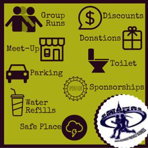 Image chart of RRCA amenities