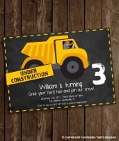 Under Construction Invitation