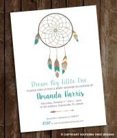 Dream Catcher Invite