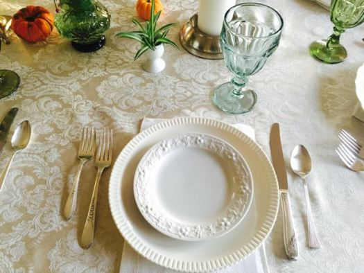 Southern Vintage Table Vintage China Rental NC