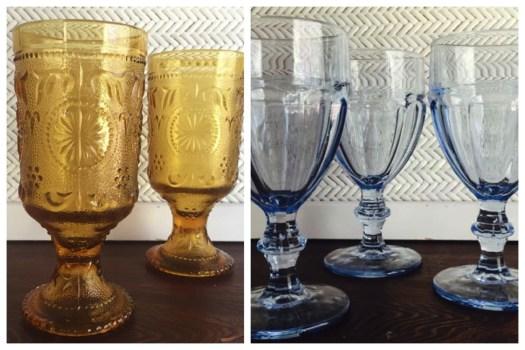 Southern Vintage Table Vintage Goblets
