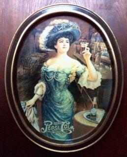 "1903 Pepsi ""Gibson Girl"""