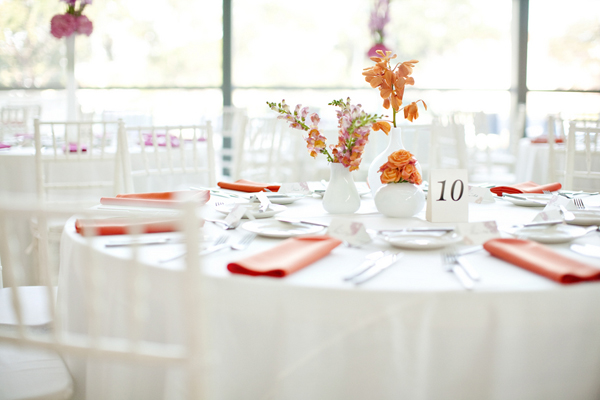 Wedding Reception Centerpieces Beautiful Pink Candles In The Top With Centerpiece Ideas