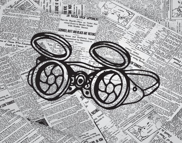 Steampunk Glasses Print