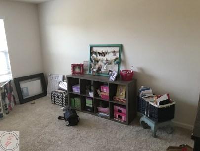 cube storage, craft supplies, baskets