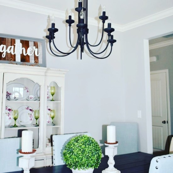 Farmhouse Lighting-Dinning Room
