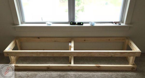 Room Renovation: Office week 3 Bench frame