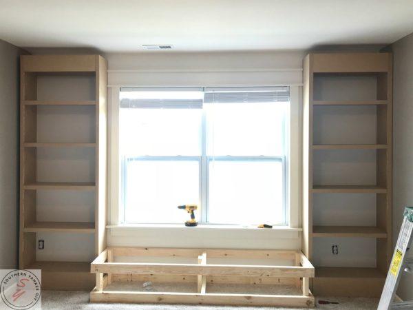 Room Renovation_ Office week 3 Bookcase frame 13