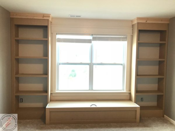Room Renovation_ Office week 3 Bookcase frame 20