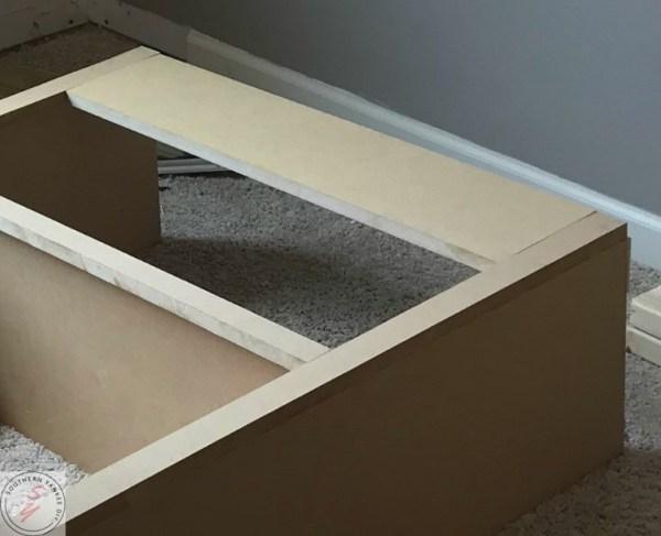 Room Renovation_ Office week 3 Bookcase frame 7