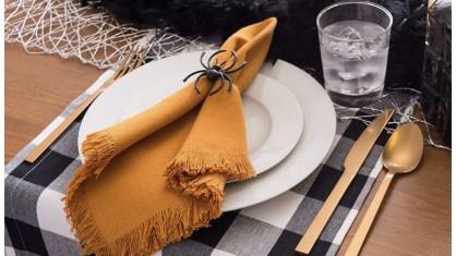 Fall amazon Buffalo check table cloth