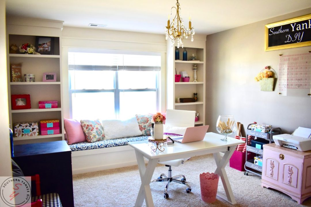 Room Renovation: Office Reveal